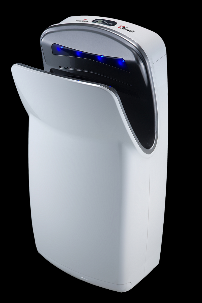 VMax hand dryer in white
